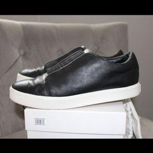 NWOT vince Black Cantara Slip on Sneakers Size 8.5